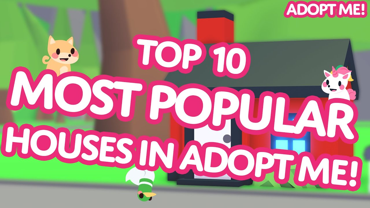 Infinite monkeys?! ??️  Top 10 MOST POPULAR Houses in Adopt Me! on Roblox