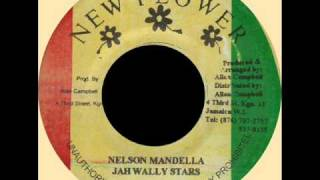 "Jah Wally All Stars - Angela Davis + Nelson Mandela (NEW FLOWER) 7"".wmv"