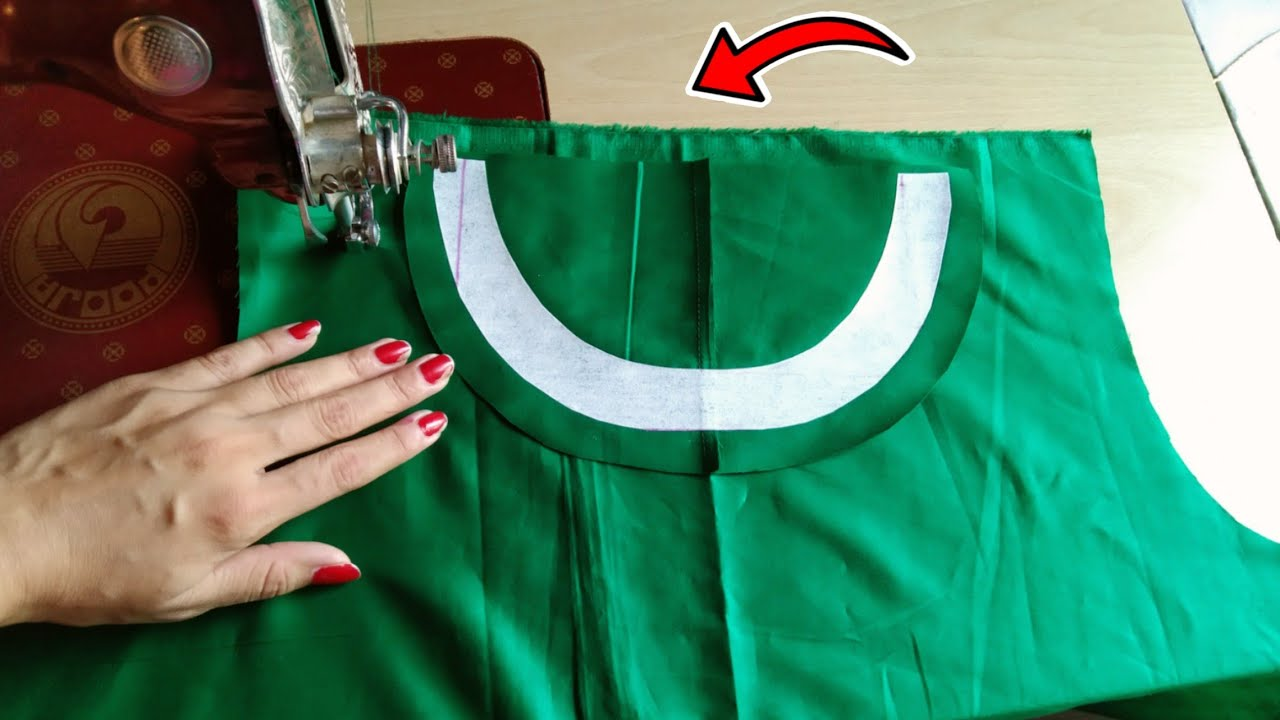 Boat Nack kurti cutting and stitching 2020