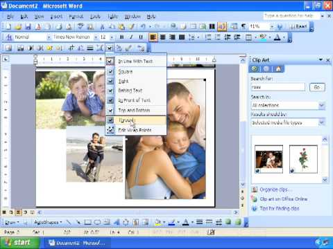 Creating Custom Greeting Cards For Motheru0027s Day, Graduation - how to make a party invitation on microsoft word