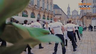Battle jerusalema Police, soignants à Nancy France #Challengejerusalema