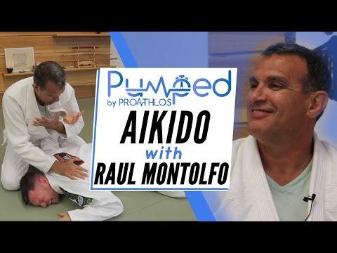Raul Montolfo, Black Belt Professor, teaches Aikido joint locks