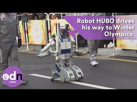 Robot HUBO drives his way to Winter Olympics