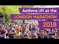 Asthma UK at the London Marathon 2018
