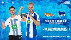 Re-Live: Bundesliga Home Challenge   Hertha BSC vs. 1. FC Union   Pascal Köpke u. Eren Poyraz