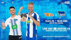 🔴 Bundesliga Home Challenge   Hertha BSC vs. 1. FC Union   Pascal Köpke u. Eren Poyraz