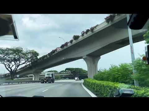 [TAXI RIDE] Singapore City Tour | Circuit Road to Alexandra Road