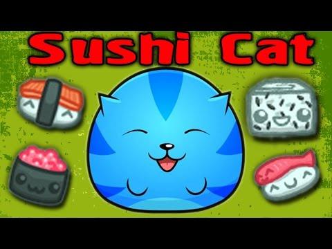 видео: МАЛЕНЬКИЙ ОБЖОРА - Sushi Cat