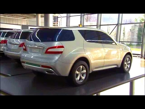 Mercedes ML W166 - разработка дизайна и проектирование