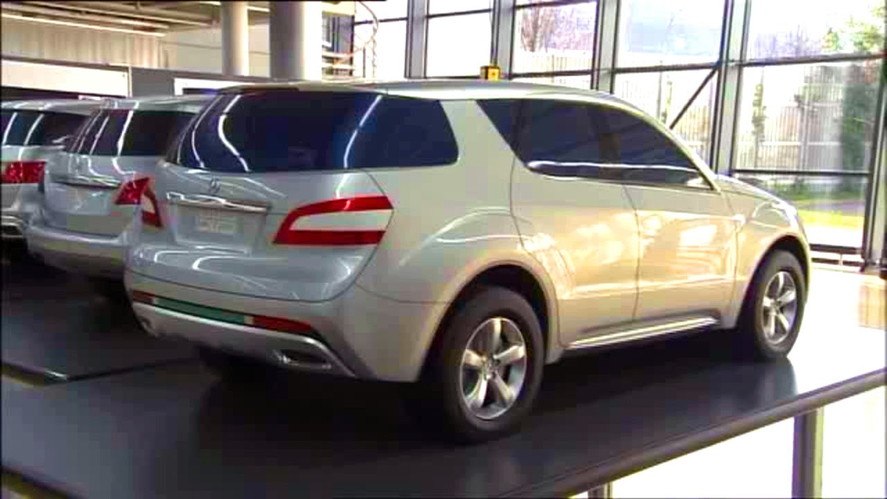 mercedes ml w166 development youtube. Black Bedroom Furniture Sets. Home Design Ideas