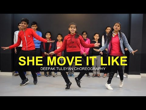 She Move it like   Class   Deepak Tulsyan Dance Choreography  G M Dance