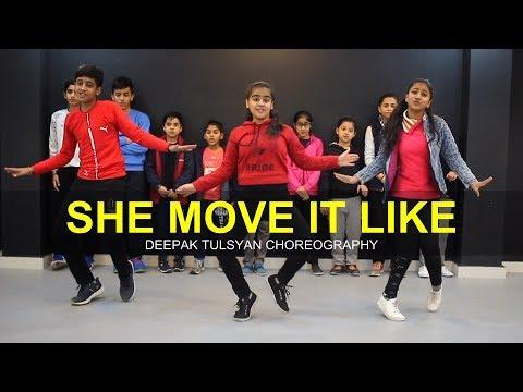 She Move It Like | Full Class Video | Deepak Tulsyan Dance Choreography | G M Dance