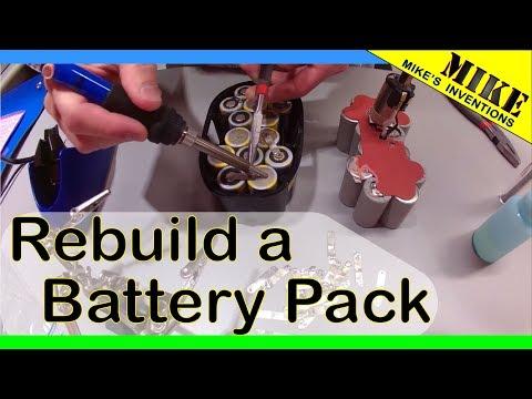 Dewalt 20v battery rebuild kit