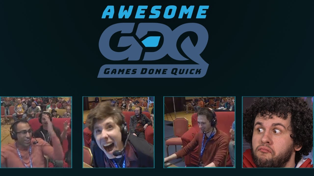 Official Awesome Games Done Quick 2018 Highlights Agdq