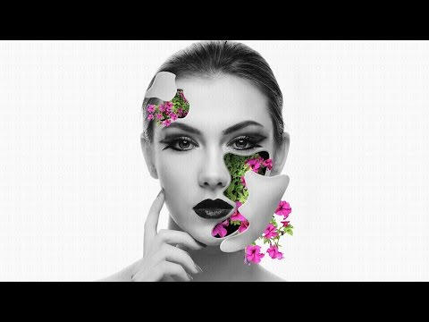 Photoshop Tutorial - Flower Face Effects thumbnail
