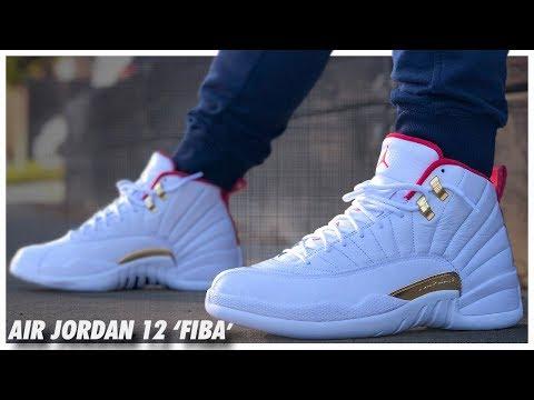 Air Jordan 12 'FIBA' Review