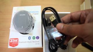 TP-Link Bluetooth Music Receiver HA100 Unboxing and Review