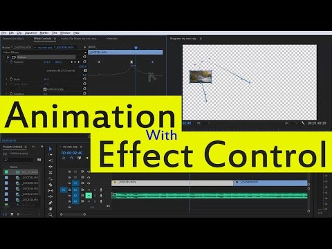 #EP-15 Animation With Effect Control Premiere Pro [Velocity, Position, scale, Rotate,]