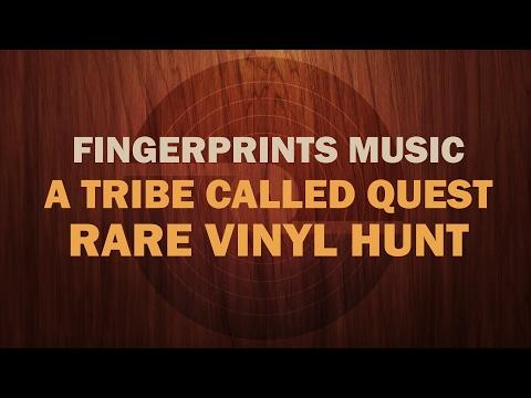 A Tribe Called Quest RARE PROMO Vinyl Hunt at Fingerprints Music