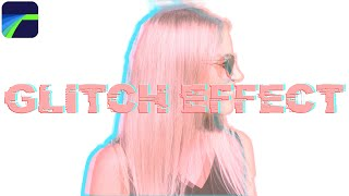 How to make GLITCH EFFECT in Lumafusion for iPad/iPhone