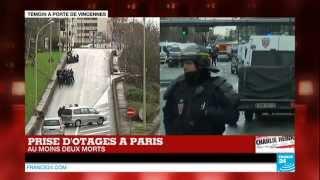 #URGENT - Prise d'otages à Paris : Au moins 2 morts, le tireur de Montrouge suspecté