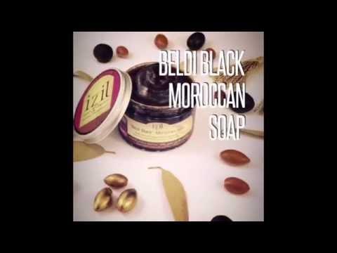 Beldi Black Moroccan Soap