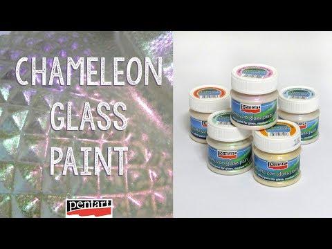 Chameleon üvegfesték // Chameleon Glass Paint