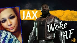 MK11 | Jax Tower Ending | Mortal Kombat Officially Woke AF {Reupload}