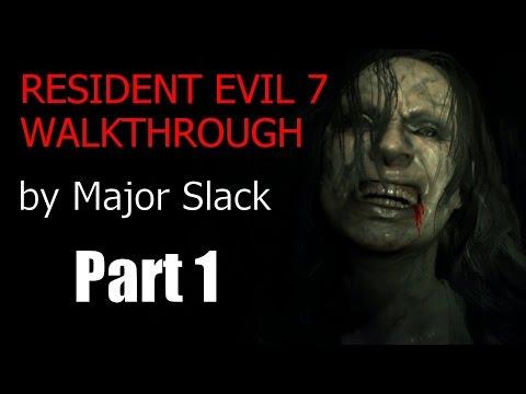 Resident Evil 7 Walkthrough Part 1 - Finding Mia - Playthrough, Gameplay
