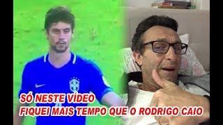 Só neste vídeo fiquei mais tempo que o Rodrigo Caio na seleção...