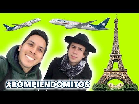 A PARIS con ALEXXX STRECCI ★ Rompiendo Mitos