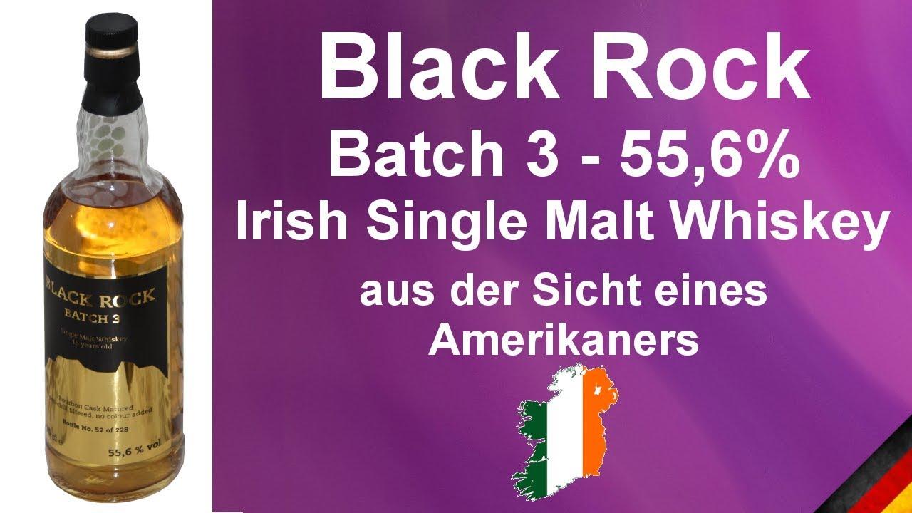 517 - Black Rock Batch #3 Irish Whiskey 15 Year Old Single Malt ...