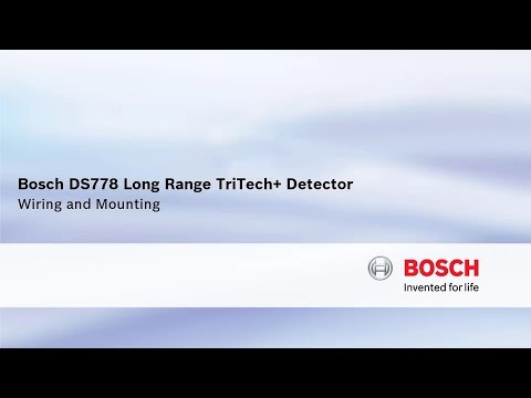 Bosch Security - DS778 Long Range TriTech+ Detector