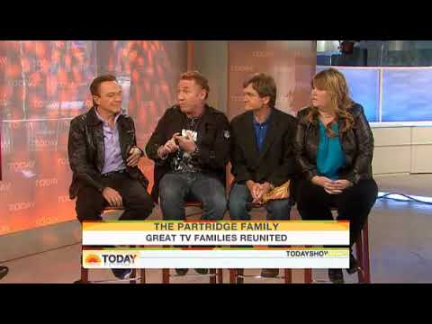 David Cassidy With The Cast Of The Partridge Family On Today Show I in 2010