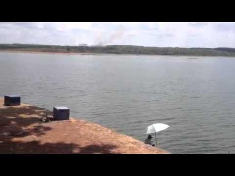 hồ câu cá ở Sông Mây - Trị An