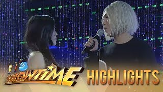 """It's Showtime Miss Q & A: Vice and """"Ate Girl's"""" skit is getting real"""