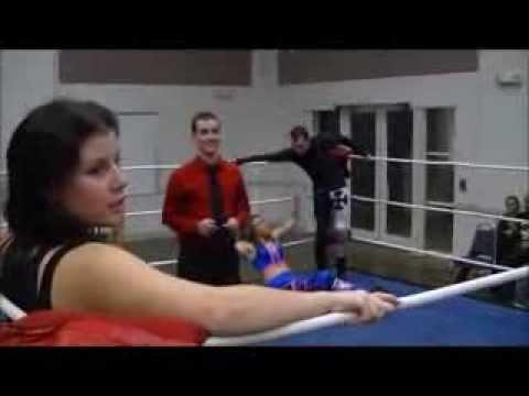 NEW: 1-14-14: Mix Tag: Lena Taylor & Deakon Starr vs Stormie Lee & Sage