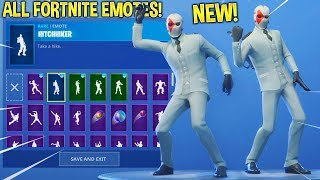 "NUOVO: FORTNITE ""WILD CARD"" SKIN SHOWCASE CON TUTTI FORTNITE DANCES & EMOTES..!!"