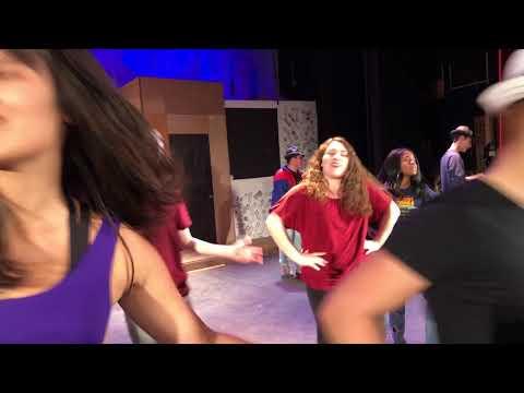 Guys and Dolls Rehearsal (Hamilton High School)