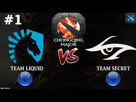 видео: МИРАКЛЬ на ТЕЧИСЕ! | liquid vs secret #1 (bo3) | the chongqing major