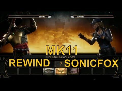 SonicFox (Sonya) vs Rewind (Raiden) - Mortal Kombat 11 Exhibition match - MK11