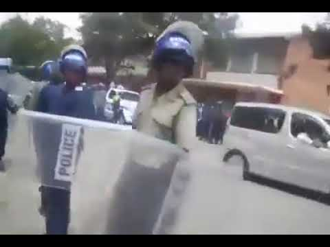 Bulawayo Protesters Clash With Police