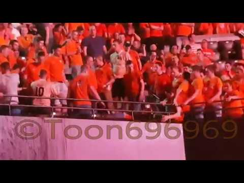 Vechtpartij Fight @ Premier League Darts Rotterdam Ahoy