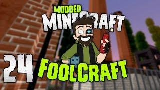 Minecraft: FOOLCRAFT | #24: MOST OP POWER GEN (No Joke!) [Modded Minecraft]