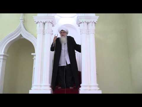 Friday Khutbah at Fort Galle Mosque, Sri Lanka