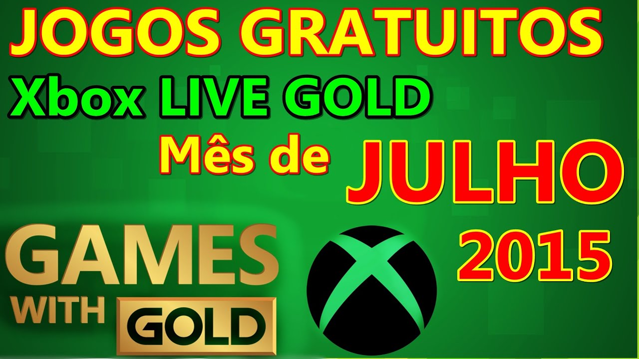 Xbox Live Gold 1 Mes Jogos Gratuitos Games With Gold Xbox Julho 2015 Youtube