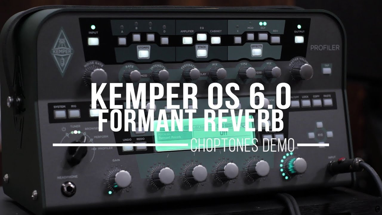 Kemper Firmware V 6 0 0 14574 Just Released! | The Gear Page