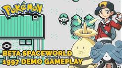 Pokemon Spaceworld Demo Gameplay 1997 | Was für krasse Unterschiede!