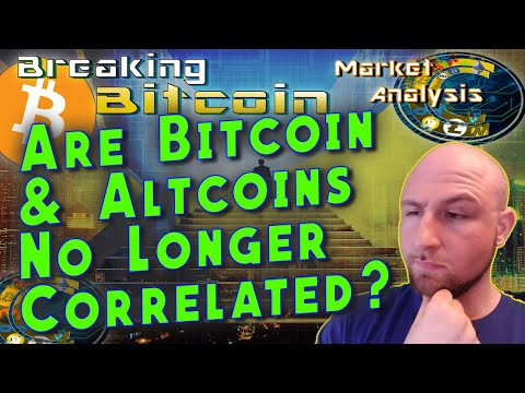 The Decoupling: Bitcoin And Altcoins Correlation Vanishing?