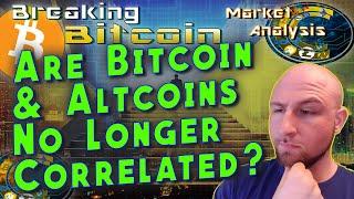 The Decoupling: Bitcoin and Altcoins Correlation Vanishing?